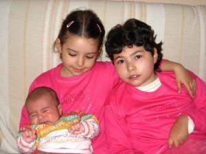 Maria, Cristina y Dani