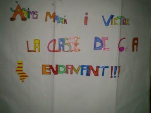 Lo mas grande, el apoyo de los niños de Bocairent.....
